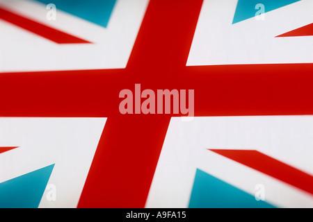 Union flag Great Britain United Kingdom - Stock Photo