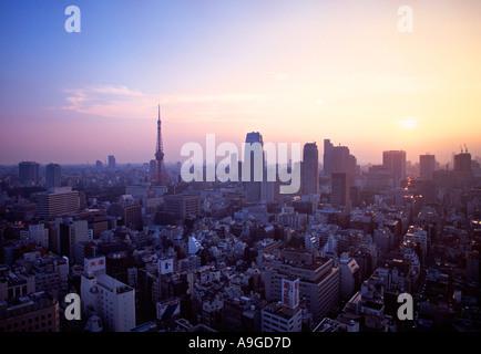 Minato ku, Tokyo, Japan - Stock Photo