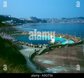 South bay swimming pool at scarborough from a slide taken - Swimming pools in south yorkshire ...