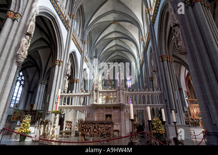 Xanten, cathedral St.Victor, NRW, Germany - Stock Photo