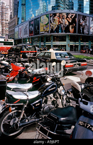 Traffic congestion in the former Portuguese colony of Macau. - Stock Photo
