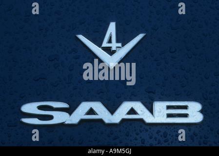 Sweden Swedish Saab Car Maker Logo Marque On Steering Wheel Badge
