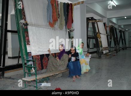 Carpet school children, Egypt - Stock Photo