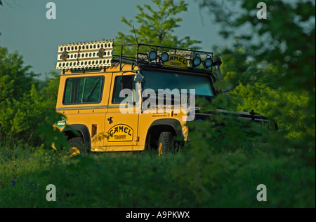A camel trophy land rover defender a rugged off road for Camel motors on park and ajo
