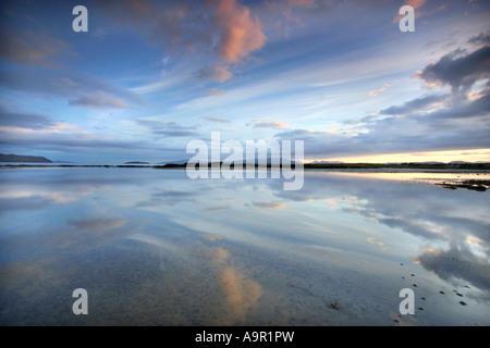Broadford Bay,Isle of Skye,Highlands,Scotland,UK. - Stock Photo