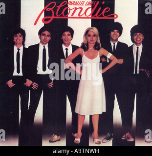 BLONDIE - cover of 1978 Parallel Lines album - Stock Photo