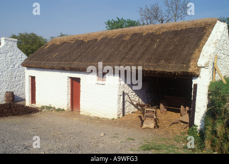 Farmhouse Ulster Folk and Transport Museum Cultra Holywood Co Down Northern Ireland - Stock Photo