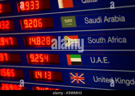 Seeb International airport Muscat Oman - Stock Photo