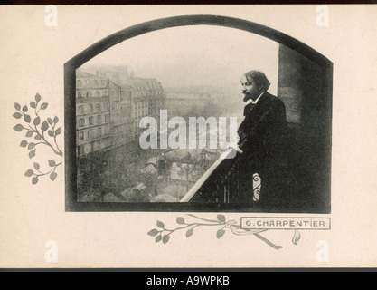 G Charpentier Postcard - Stock Photo