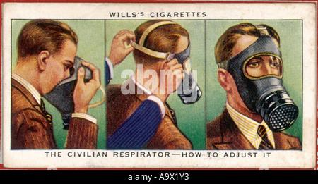 Ww2 Gas Mask - Stock Photo