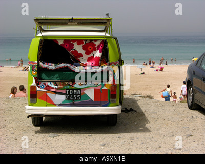 Transport to Places of  Interest, Balneario, Los Lances, Tarifa, Andalucia, Spain - Stock Photo