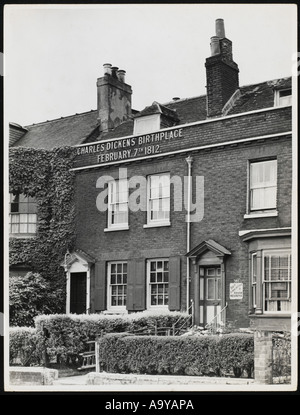 Dickens Birthplace - Stock Photo