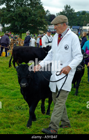 Stokesley agricultural show held every September at Stokesley North Yorkshire England - Stock Photo
