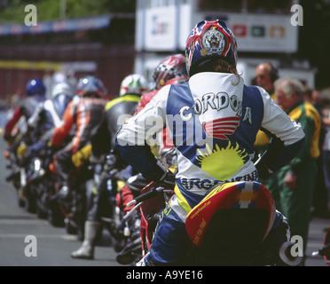 TT Races Isle of Man - Stock Photo