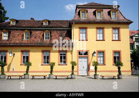 Wittums-Palais, Weimar, Thuringia, Germany. UNESCO world heritage Stock Photo