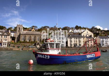 THE WEST WALES FISHING VILLAGE OF ABERDOVEY OR ABERDYFI UK 2005 - Stock Photo