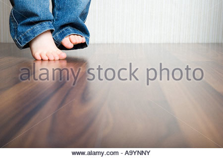 Babys feet - Stock Photo