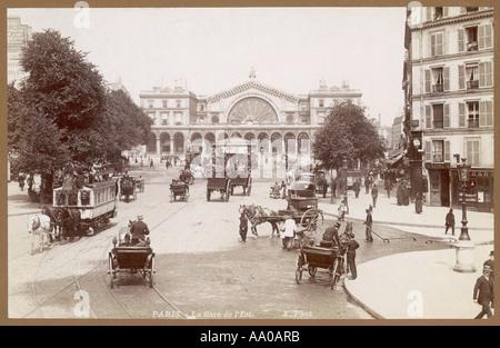 Gare De Lest Paris - Stock Photo