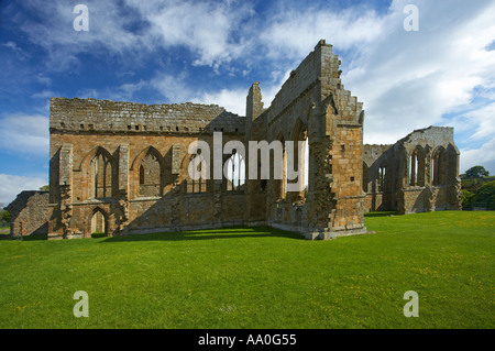 Egglestone Abbey near Barnard Castle County Durham - Stock Photo