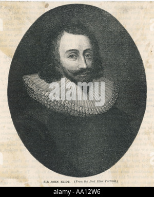 Sir John Eliot - Stock Photo