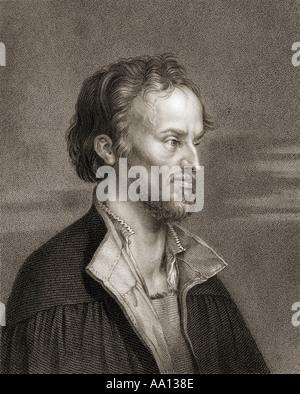 Philip Melanchthon, born Philipp Schwartzerdt, 1497 – 1560. German author, humanist,Lutheran reformer, theologian - Stock Photo