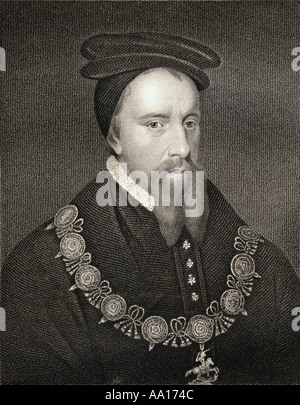 Thomas Stanley, 1st Earl of Derby,1435 – 1504. English nobleman and politician, a rominent figure in later stage - Stock Photo