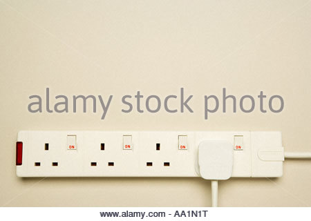 Electrical socket - Stock Photo