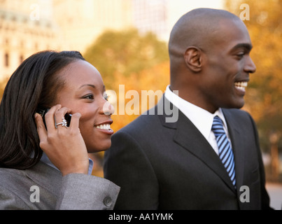 Business People Outdoors - Stock Photo