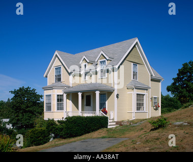 Typical House 'Boothbay Harbour' Maine 'New England' USA