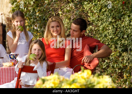 family,outdoor - Stock Photo