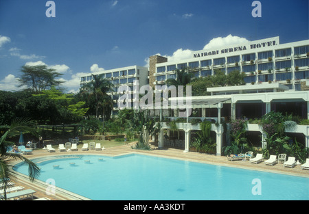 Africa Kenya A High Rise Building In The Centre Of The