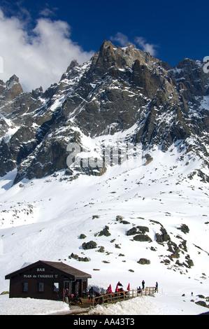 Plan de l'Aiguille Chamonix Haute-Savoie France - Stock Photo