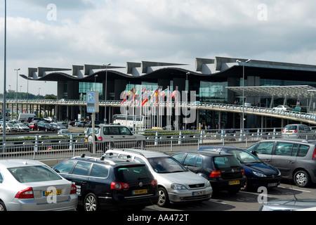 Bordeaux international airport Merignac Bordeaux Gironde Aquitaine France Europe - Stock Photo