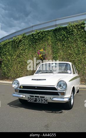 Ford Lotus Cortina MK1 of 1965 - Stock Photo
