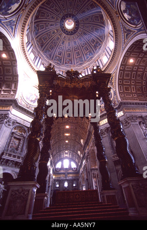 saint peters basilica, vatican city - Stock Photo
