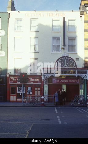 The Olympia Theatre on Dame Street in Dublin - Stock Photo