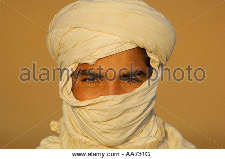 Berber boy Morocco Sahara Desert - Stock Photo