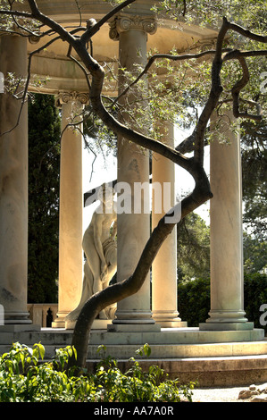 Temple of Love at Villa Ephrussi de Rothschild EDITORIAL USE ONLY - Stock Photo
