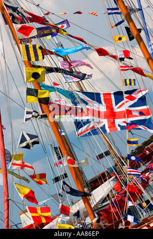 Old Gaffers festival Yarmouth Isle of Wight England Great Britain - Stock Photo