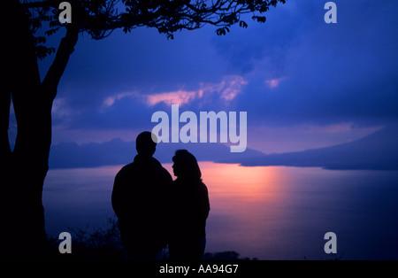 Lake Atitlan Guatemala - Stock Photo