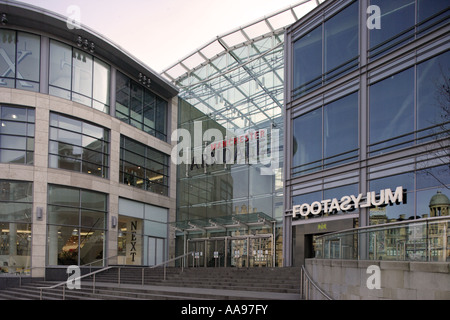 Arndale shopping centre in Manchester UK - Stock Photo