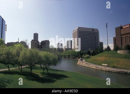 AJ11701, Omaha, NE, Nebraska - Stock Photo