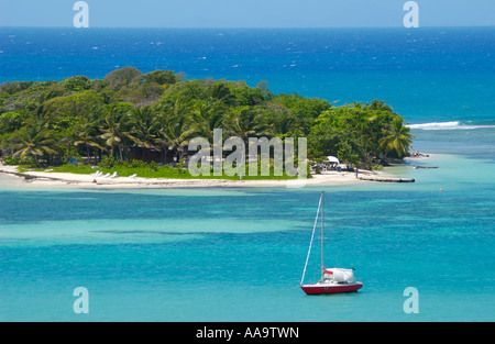 Le Gosier Island, Guadeloupe FR - Stock Photo