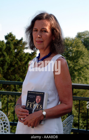 Claire Tomalin author Whitbread Book Of The Year winner - Stock Photo