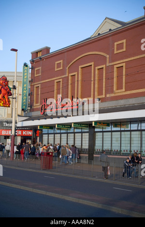 Harry Ramsden's World Famous Fish and Chip Restaurant,Blackpool Prom,Lancashire,UK,GB - Stock Photo