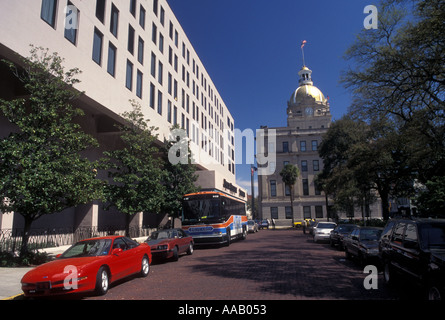 AJ14350, Savannah, GA, Georgia - Stock Photo