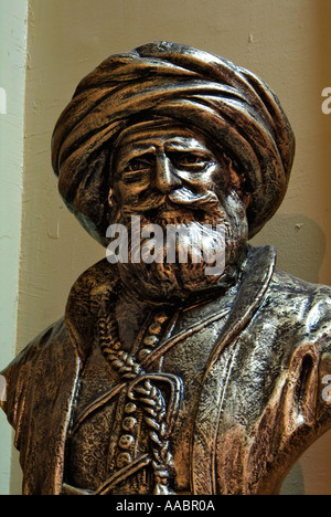 Bust of Muhammad Ali Pasha, National Military Museum, Citadel, Cairo, Egypt - Stock Photo