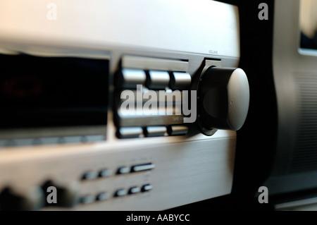 Hi fi audio receiver - Stock Photo