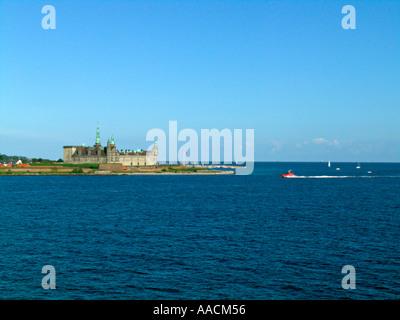 Denmark Helsingor Kronborg Castle maritime museum - Stock Photo