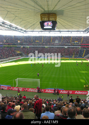 Frankfurt am Main The new Commerzbank Arena inside with the closed roof The 1 Bundesliga match between Eintracht - Stock Photo